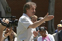 Ray Comfort Open Air Preaching